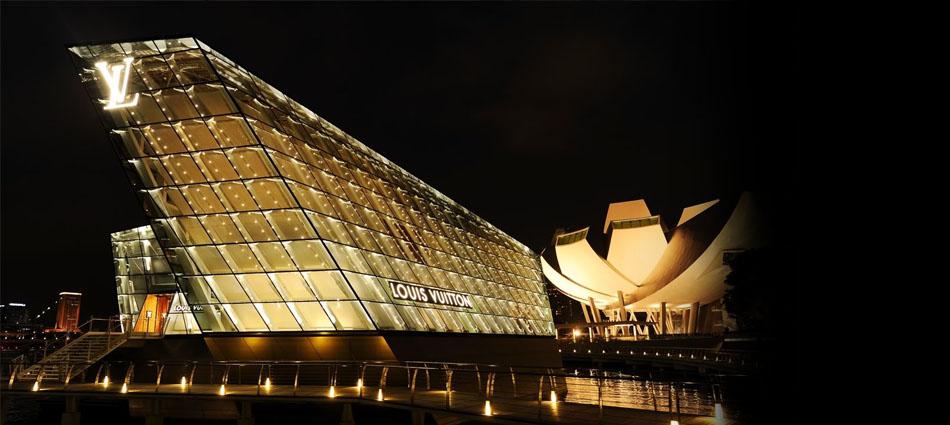 louis vuitton Louis Vuitton: the art of architecture Louis Vuitton Opens Flagship Store Singapore31