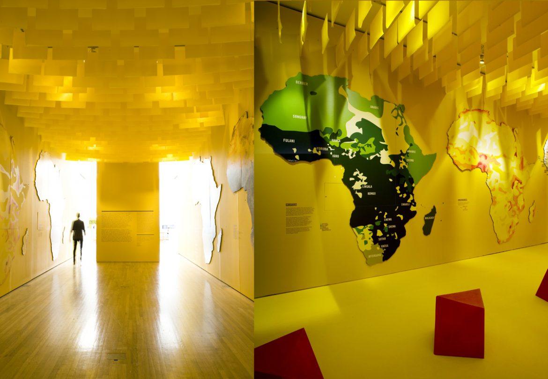 Design Museum London Davide Adjaye Installation The 5 Must-go London museums The 5 Must-go London museums design museum london davide adjaye