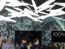 100% Design in London Collider light entrance