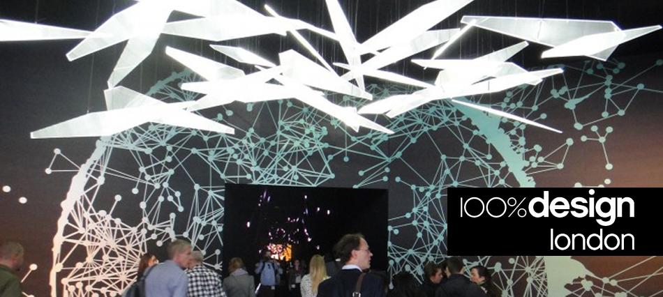 100% Design in London Collider light entrance 100% Design 2012 Highlights 100% Design 2012 Highlights header 100 percent design in london