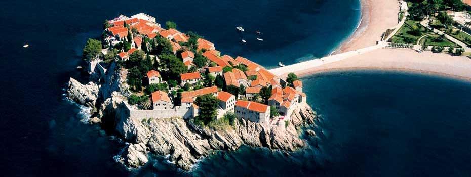 Sveti Stefan – island fortress turned spa village retreat