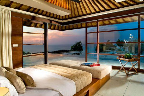 Ocean View Bedroom  10 BEDROOMS WITH A STUNNING PANORAMIC VIEW OF THE OCEAN Ocean View Bedroom