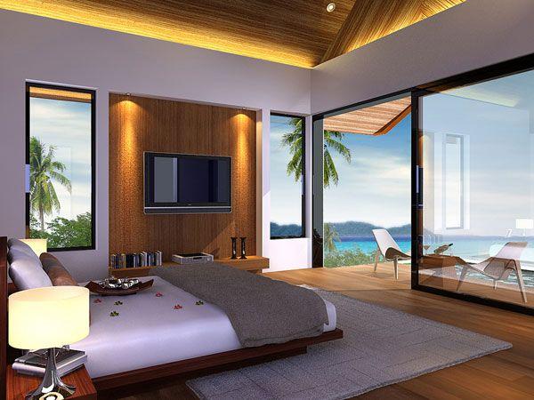 Resort Bedroom Ocean View  10 BEDROOMS WITH A STUNNING PANORAMIC VIEW OF THE OCEAN Resort Bedroom Ocean View