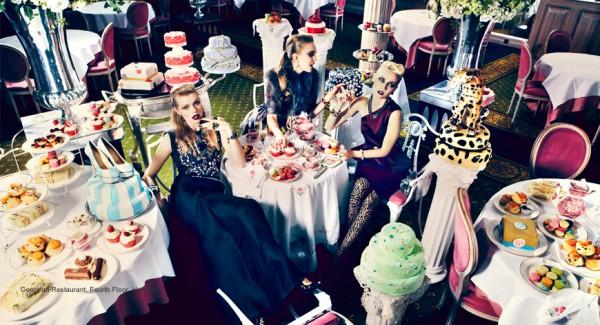 Womana Fashion Harrods Harrods marries Fashion and Food Harrods marries Fashion and Food harrods fashion food digital campaign 600x325