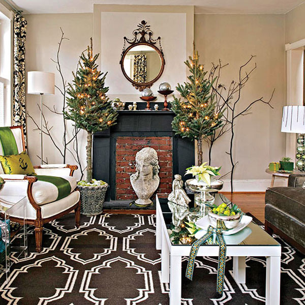 Christmas-Living-Room-Decor&Style Best Christmas Decoration Tips Best Christmas Decoration Tips Christmas Living Room DecorStyle  home Christmas Living Room DecorStyle