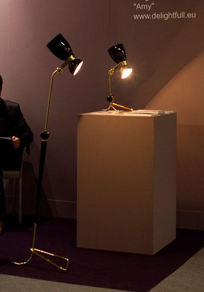 Delightfull, Amy Winehouse, Jazz, Lighting Mid century lighting by Delightfull Mid century lighting by Delightfull amy winehouse unique desk table vintage lamp 03