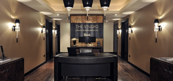 Focus on british interior design: The Studio at Harrods Focus on british interior design: The Studio at Harrods entrance  home entrance