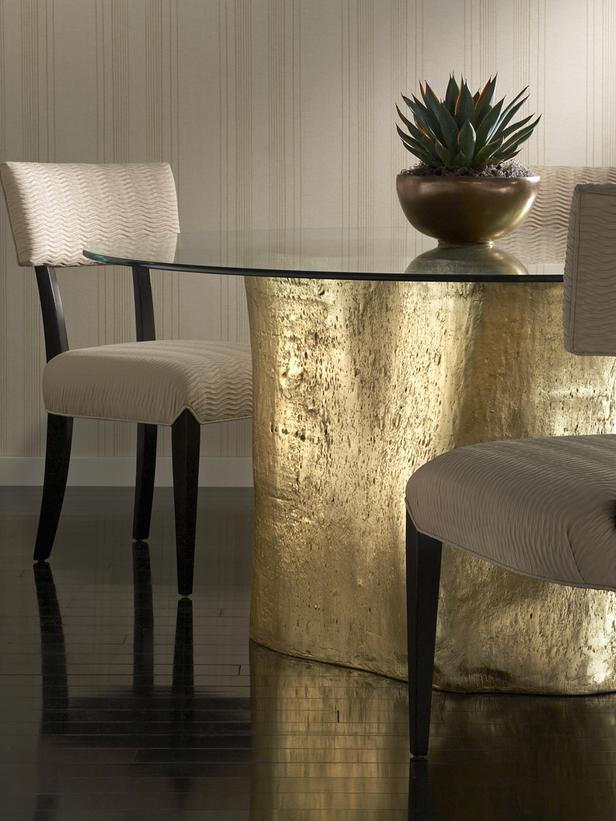 Interior Design Trends for 2013 - Materials Interior Design Trends for 2013 – Materials CI Phillips Collection gold log table s3x4 lg