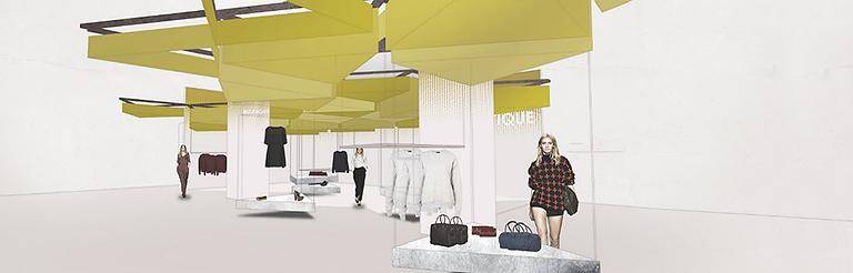 oxford street, royal college of art, flagship store, interior designers uk, retail design,