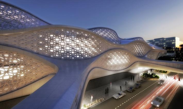 Zaha Hadid - New Metro Station in Riyadh