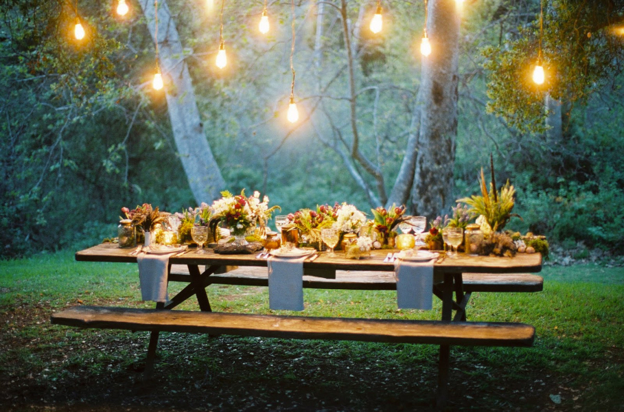 Great Outdoor lighting Ideas - for The Best Summer Parties  Great Outdoor lighting Ideas – for The Best Summer Parties  picnicscape outdoor lighting