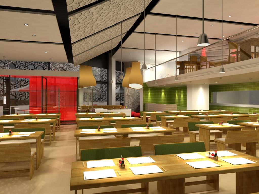 Bentheim - Wagamama-2 Top interiors designers Top interiors designers in Uk – Part INTERIORS DESIGNERS IN UK – PART 8 Bentheim Wagamama 2 1024x768