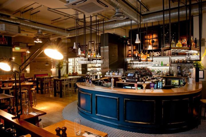 Design - LSM - The-Tokenhouse-restaurant-bar-by-Harrison-London Top interiors designers Top interiors designers in Uk – Part INTERIORS DESIGNERS IN UK – PART 8 Design LSM The Tokenhouse restaurant bar by Harrison London