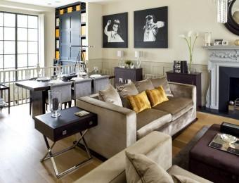Top interiors designers Top interiors designers Top interiors designers in Uk – Part INTERIORS DESIGNERS IN UK – PART 8 Sean Clapham Living room 340x260