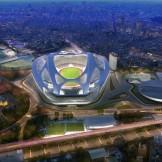 Tokyo Olympic Stadium for 2020 by Zaha Hadid Architects
