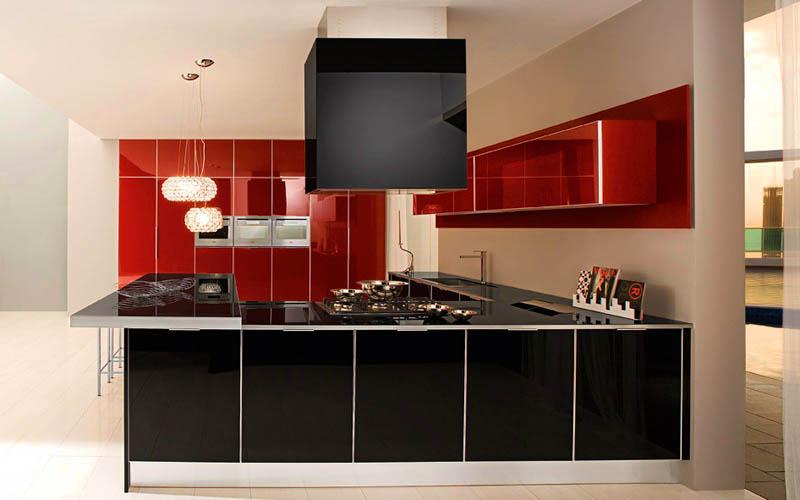 cupboards_photo-beautiful-modern-kitchen-modern-red-kitchen-designs-Ultra-Modern-Kitchen-Design-Inspirations-with-Red-Accents