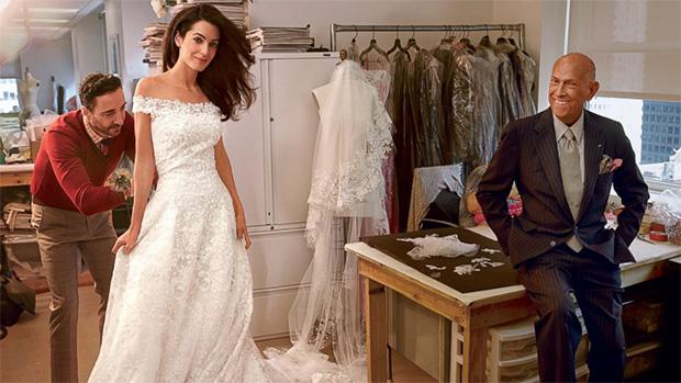 HT_vogue_amal_wedding_dress_sk_140930_16x9_992 Fashion says goodbye to Oscar De La Renta Fashion says goodbye to Oscar De La Renta HT vogue amal wedding dress sk 140930 16x9 992