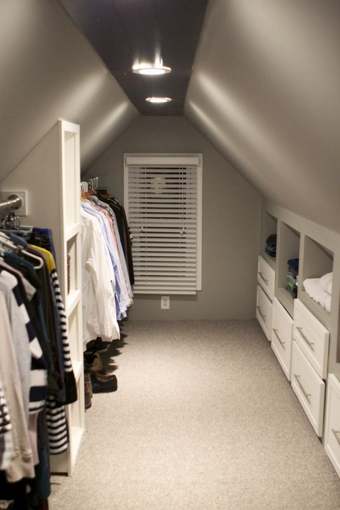 attic decoration ideas - closet Best Ideas To Decorate Your Attic Best Ideas To Decorate Your Attic attic decoration ideas closet