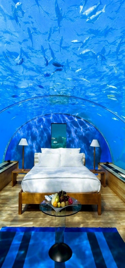 decor and style - winter destinations Conrad Maldives Rangali Resort Island