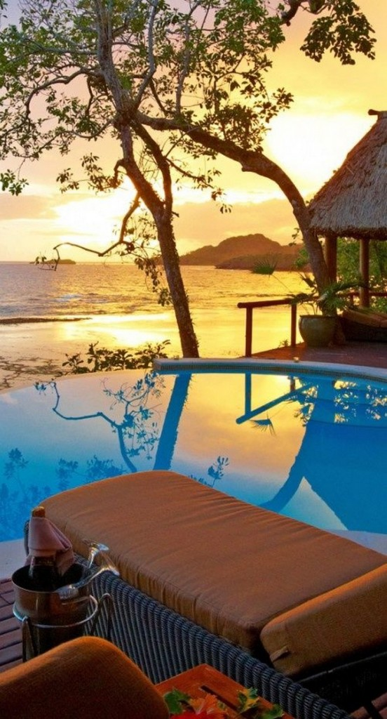 decor and style - winter destinations Namale Resort & Spa, Fiji Islands