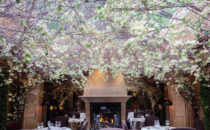 The Clos Maggiore, London's Most Romantic Restaurant