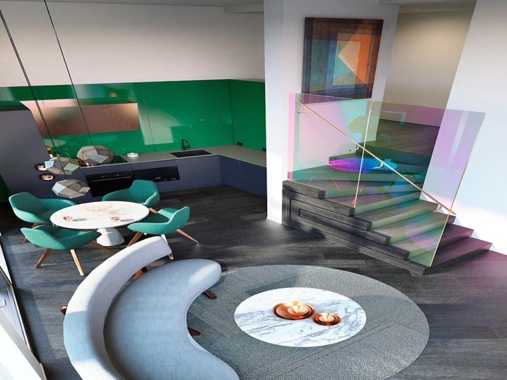 DESIGN STUDIO APARTMENT DESIGNED BY TOM DIXON DESIGN STUDIO APARTMENT DESIGNED BY TOM DIXON DESIGN STUDIO APARTMENT DESIGNED BY TOM DIXON Tom Dixon Design Research 1 loft 1024x767