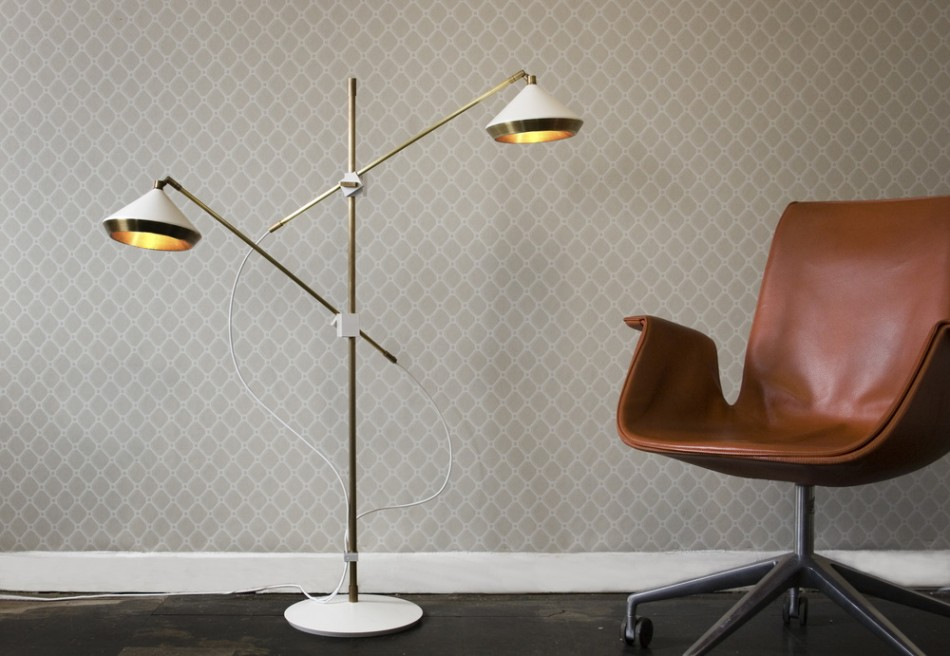 Modern designs that we would love to see at Decorex Modern designs that we would love to see at Decorex Bert Frank Shear Floor Lamp insitu for web e1442315087234