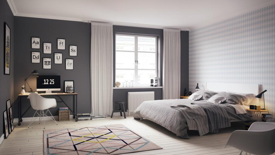 Incredible Scandinavian design bedrooms ideas