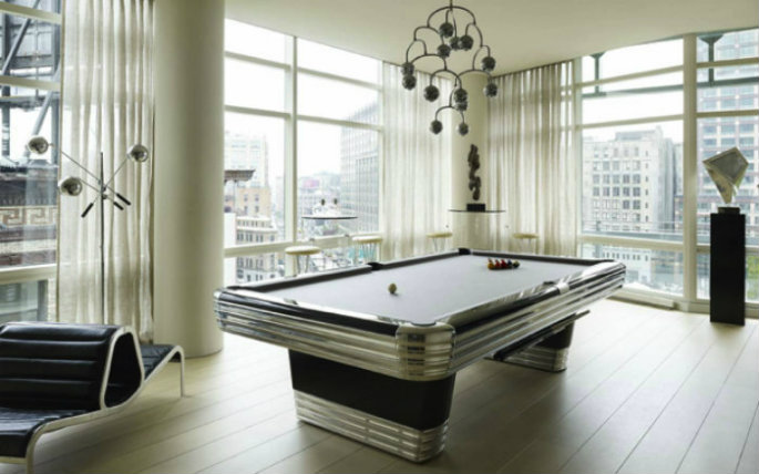 Snooker-Retro-Table Top 25 playing tables for a modern gaming room Top 25 playing tables for a modern gaming room Snooker Retro Table