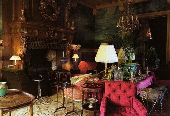 3 Best Interior Design Projects by Jacques Grange Chateau Gabriel