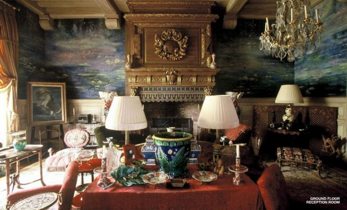 5 Best Interior Design Projects by Jacques Grange Chateau Gabriel