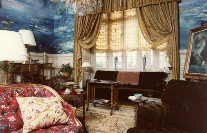 6 Best Interior Design Projects by Jacques Grange Chateau Gabriel