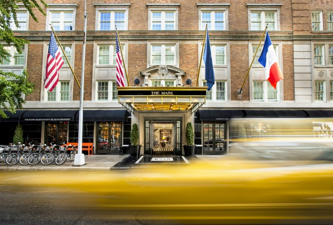 7 Best Interior Design Projects by Jacques Grange The Mark Hotel in New York
