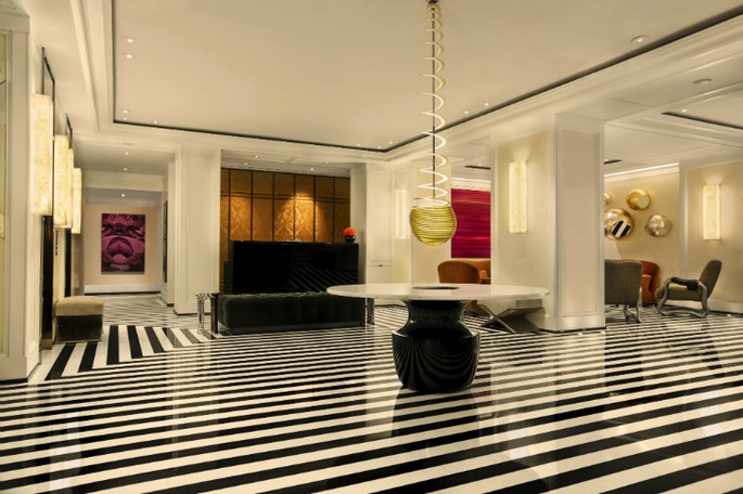 8 Best Interior Design Projects by Jacques Grange The Mark Hotel in New York