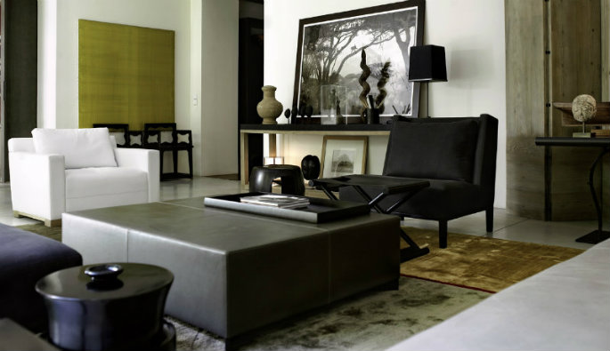 Best interior project by Christian Liaigre 5