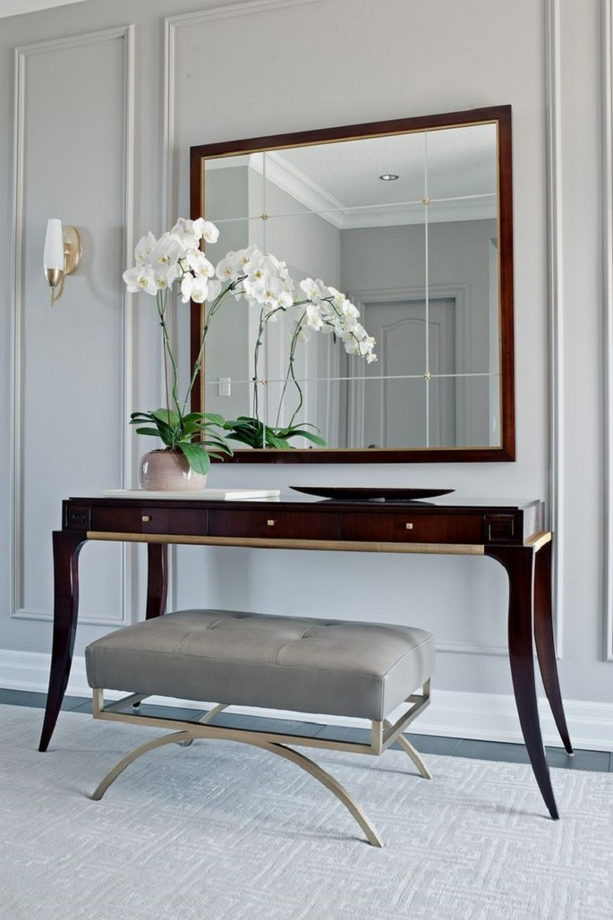 Top-50-Modern-Console-Tables-11 Inspirations to pick your new modern console table Inspirations to pick your new modern console table Top 50 Modern Console Tables 11