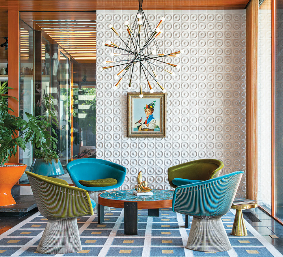 Best interior projects by Jonathan Adler Best interior projects by Jonathan Adler adler doonan sitting room