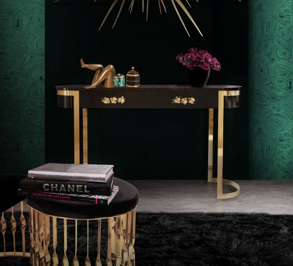 Inspirations to pick your new modern console table