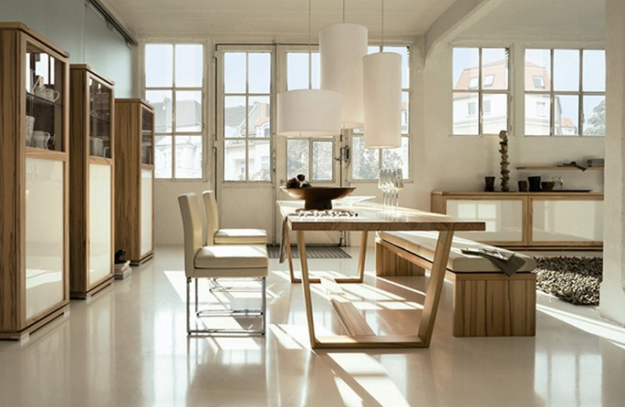 nice-white-dining-room Inspirations for your DINING ROOM design Inspirations for your DINING ROOM design nice white dining room
