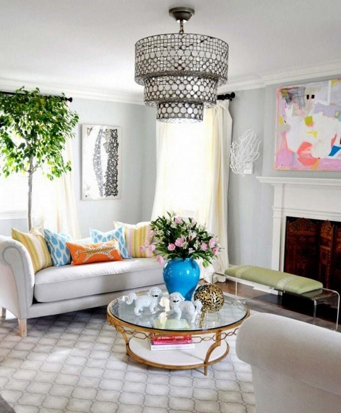 Living room ideas for spring 2016 2 living room ideas Living room ideas for spring 2016 White and white