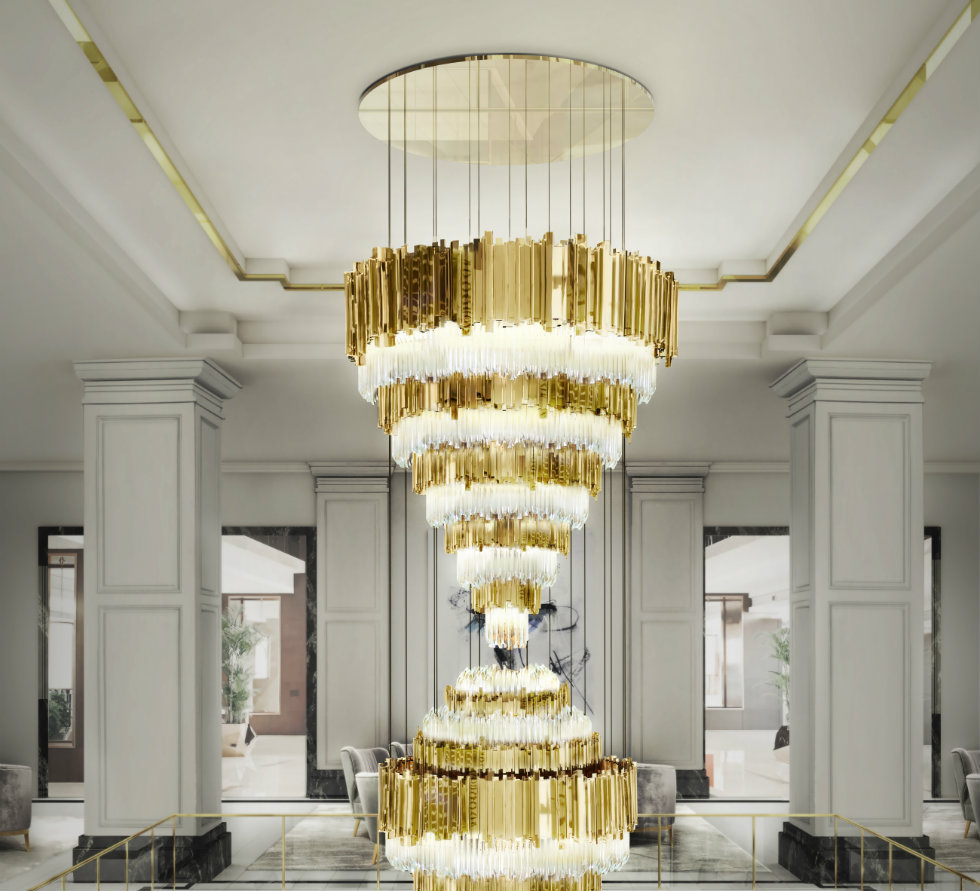 Modern Lamps: fall in love with Swarovski Modern Lamps: fall in love with Swarovski empire xl chandelier cover 01