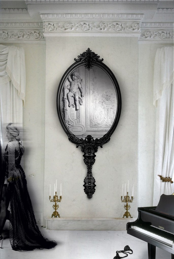 perfect-hallway-large-mirrors Get The Perfect Hallway With Large Mirrors Get The Perfect Hallway With Large Mirrors home ideas for a hallway with large mirrors 3 C  pia