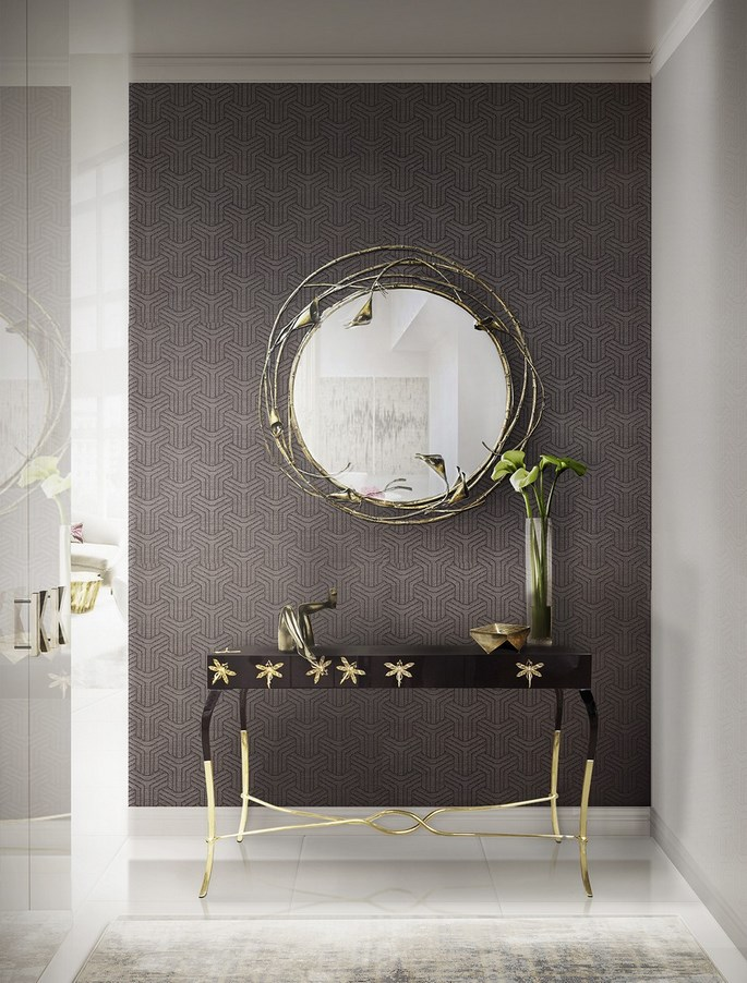 perfect-hallway-large-mirrors Get The Perfect Hallway With Large Mirrors Get The Perfect Hallway With Large Mirrors home ideas for a hallway with large mirrors 5 C  pia