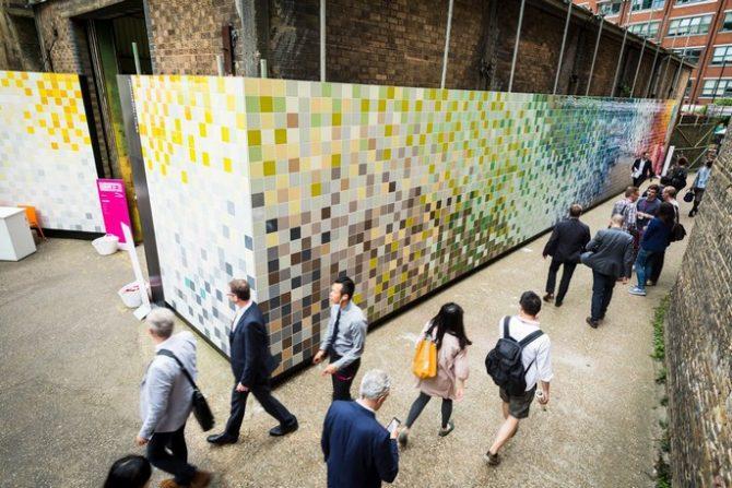 Welcome Clerkenwell 2016 as Clerkenwell 2016 Welcome Clerkenwell 2016 Clerkenwell Design Week 2014 tiles 670x447