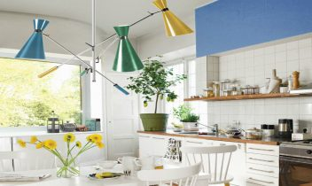 BOLD COLORS IN MODERN KITCHENS