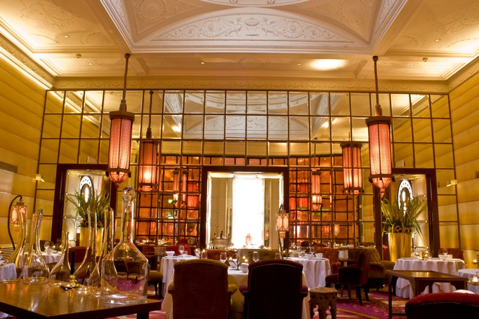 Most Luxurious Design Restaurants in London 9