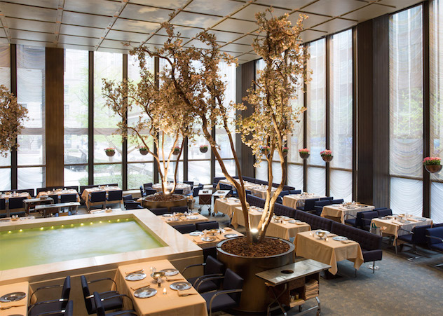 The Four Seasons Restaurant Interiors By Philip Johnson - 1 philip johnson The Four Seasons Restaurant Interiors By Philip Johnson The Four Seasons Restaurant Interiors By Philip Johnson 1