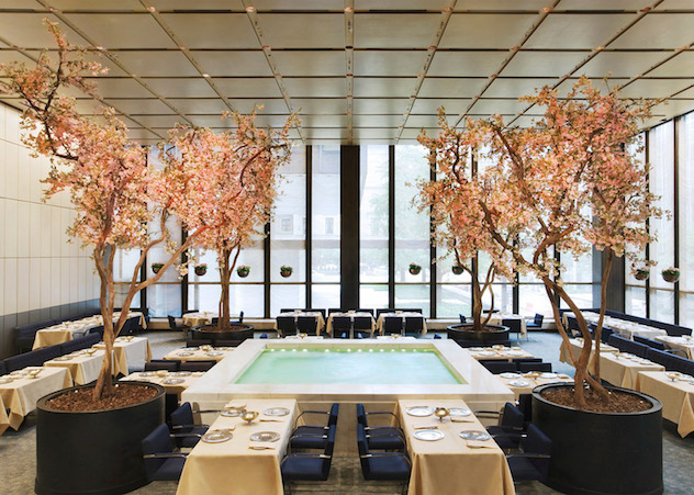 The Four Seasons Restaurant Interiors By Philip Johnson - 2 philip johnson The Four Seasons Restaurant Interiors By Philip Johnson The Four Seasons Restaurant Interiors By Philip Johnson 2