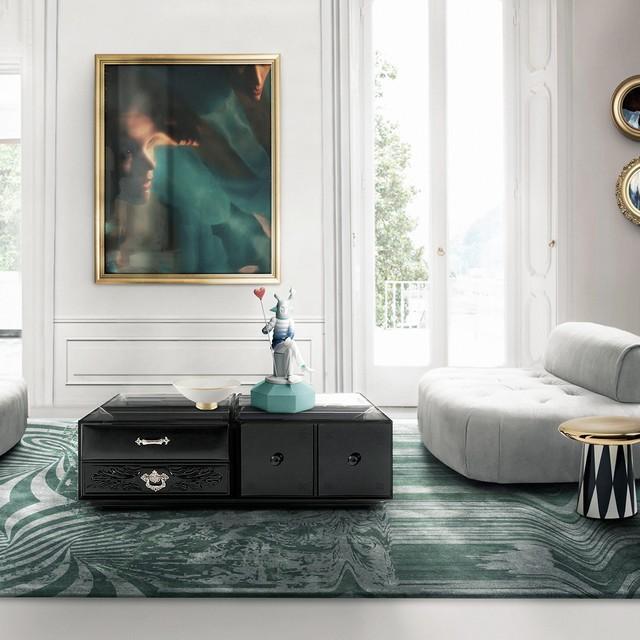 London Design Festival 2016 decorex 2016 Best contemporary rug brands at Decorex 2016 soho coffee table boca do lobo