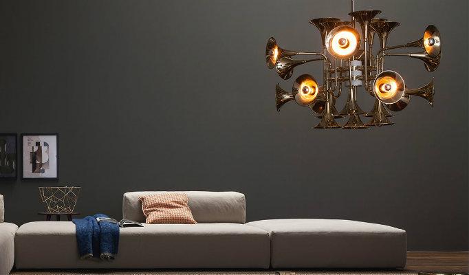 midcentury modern lighting Midcentury modern lighting brand Delightfull special fall campaign category chandellier 1